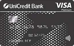 Дебетовая карта UniCredit «EXTRA» Visa Platinum+